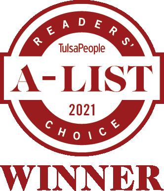 Tulsa A-List Winner Badge